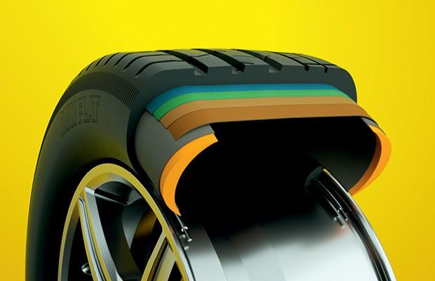 Vantagens dos pneus run flat